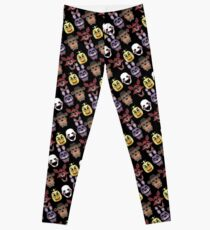 FNAF Five Nights All Over Print Multi Character Leggings