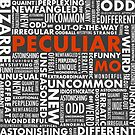 Peculiar Words by Charles Davenport