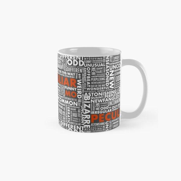Peculiar Words Classic Mug