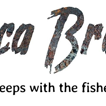 Luca Brasi sleeps with the fishes by Eurozerozero
