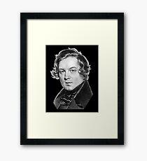 Robert Schumann - Great Romantic Composer Framed Print