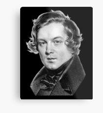Robert Schumann - Great Romantic Composer Metal Print