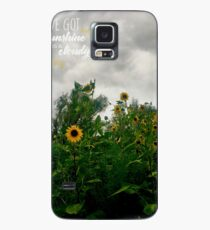 Sunshine On a Cloudy Day Case/Skin for Samsung Galaxy