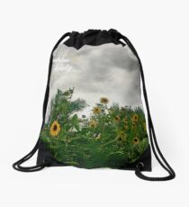 Sunshine On a Cloudy Day Drawstring Bag