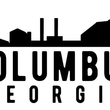 Columbus Georgia Skyline City Logo by JakeRhodes