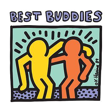 Best Buddies - Haring by 1000grau