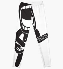 enthusiastically singing rock guitarist Leggings