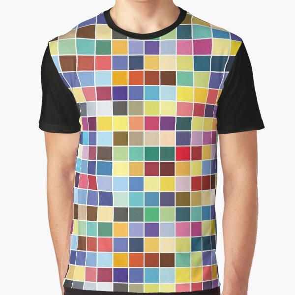Pantone Color Palette - Pattern Graphic T-Shirt