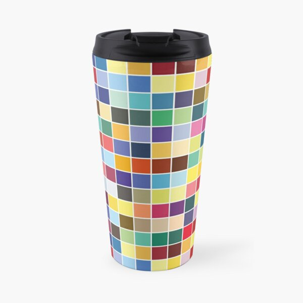 Pantone Color Palette - Pattern Travel Mug