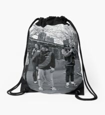 Before the Game Drawstring Bag