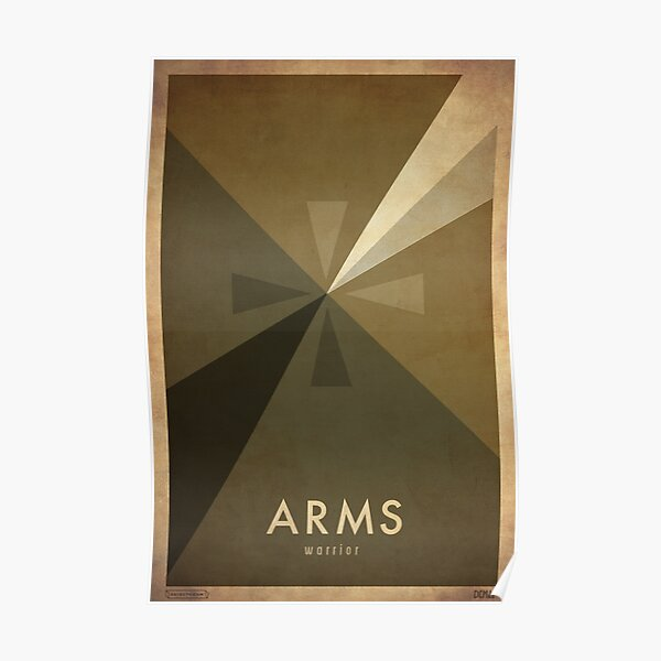 Arms Warrior - WoW Minimalism Poster