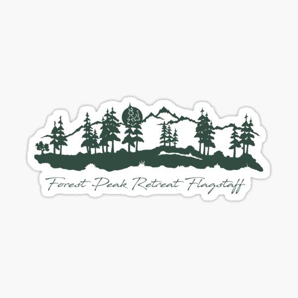 Forest Peak Retreat Logo  - From ccnow.info Sticker