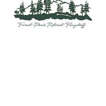 Forest Peak Retreat Logo by sdawsoncc
