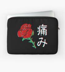 Funda para portátil Rosa Estética Japonesa v4