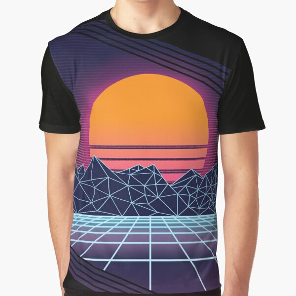 Outrun Sunset Graphic T-Shirt