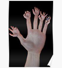 handy hand Poster