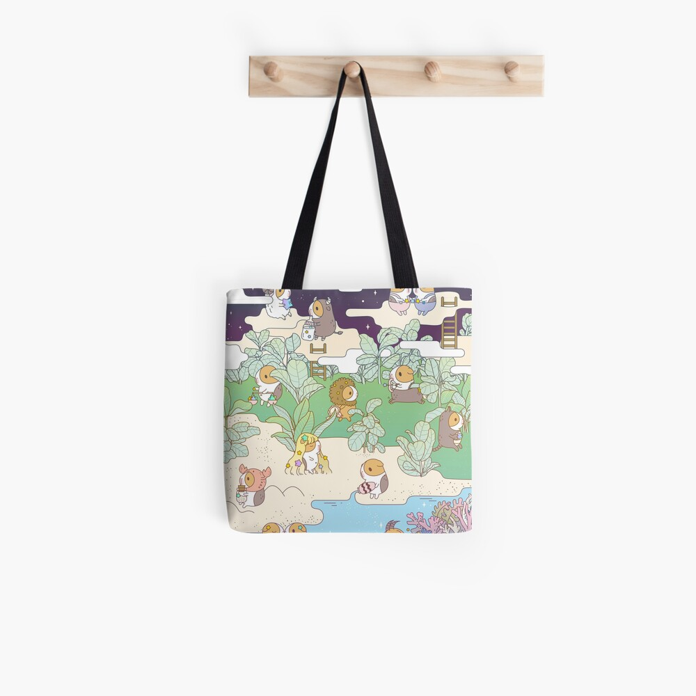 Bubu the Guinea pig Horoscope Land Tote Bag