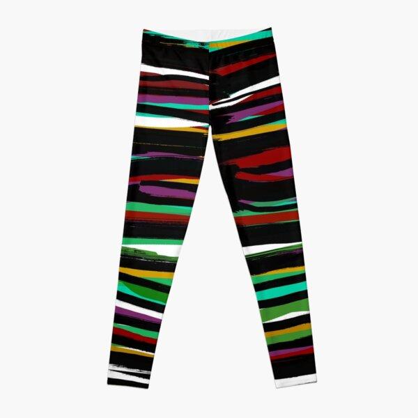 Colors - fusion of pen strokes Leggings