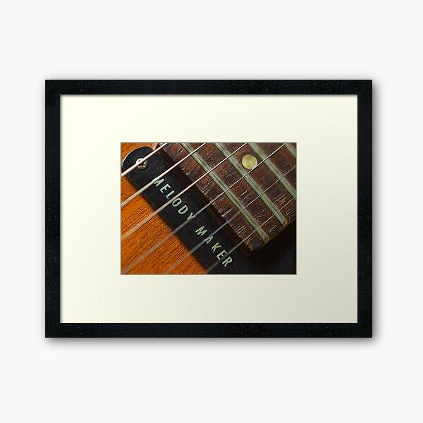 '59 Gibson Framed Art Print