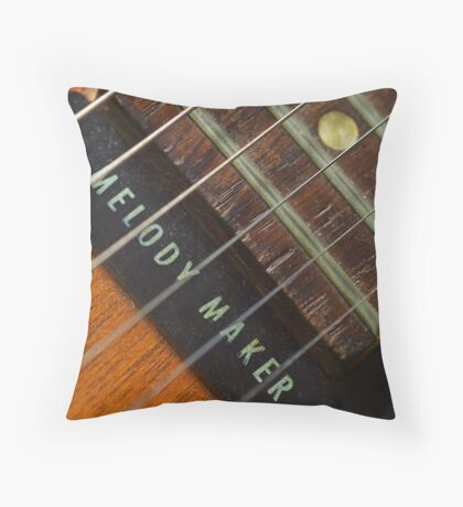 '59 Gibson Throw Pillow
