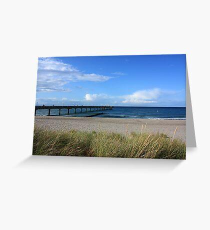 Late Summer's Day - Heiligendamm Greeting Card