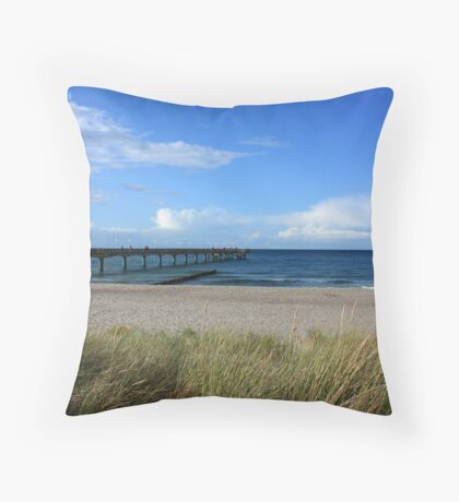 Late Summer's Day - Heiligendamm Throw Pillow