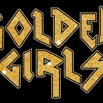 Golden Glitter Girls by monpetitbambino
