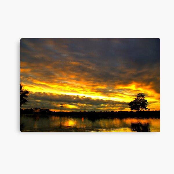 Blackheath Sunset Canvas Print