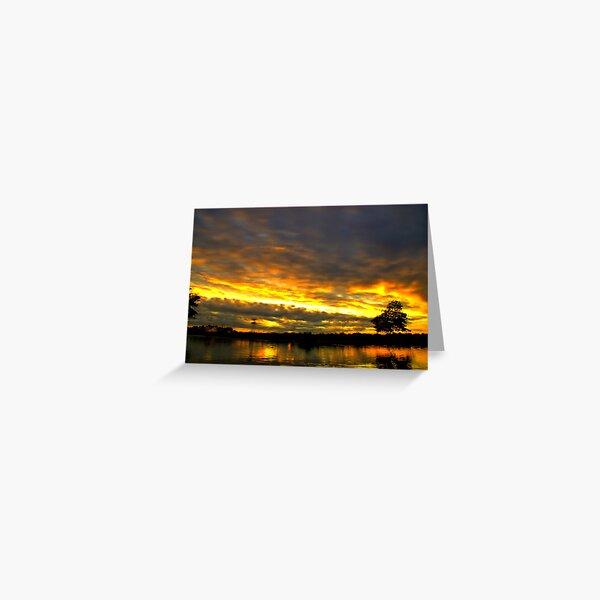 Blackheath Sunset Greeting Card