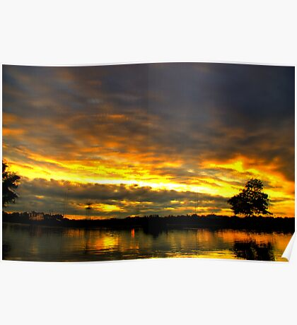 Blackheath Sunset Poster