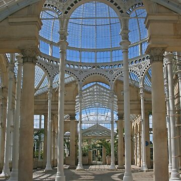 Inside the Great Conservatory, Syon Park by RedHillDigital