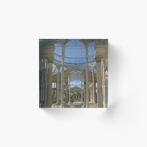 Inside the Great Conservatory, Syon Park Acrylic Block