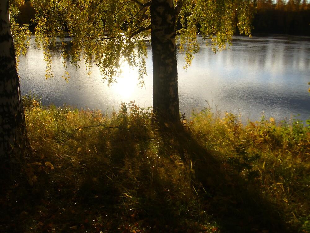 Autumn Riverside by miravisu