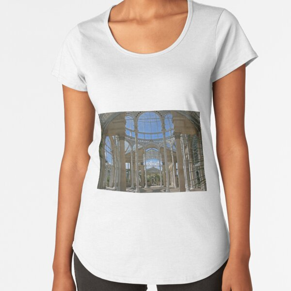 Inside the Great Conservatory, Syon Park Premium Scoop T-Shirt