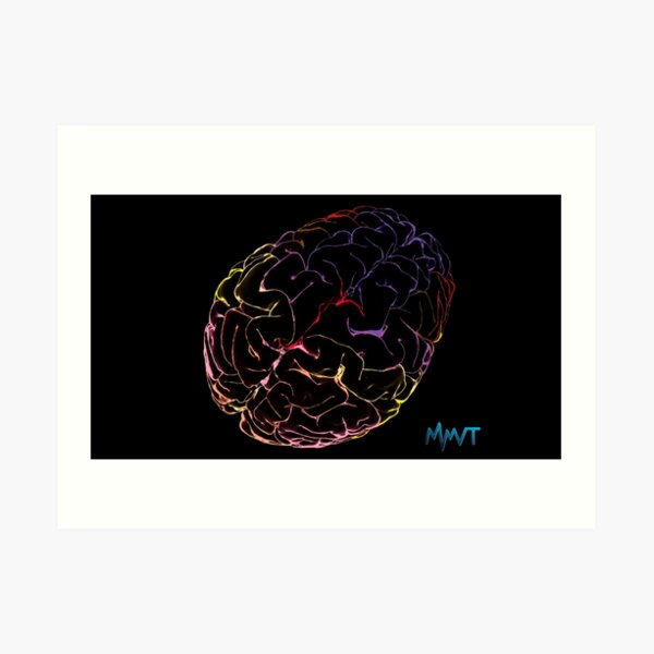MMVT Labels Atlas Art Print