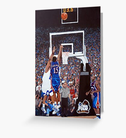 A Shot to Remember - 2008 National Champions Greeting Card