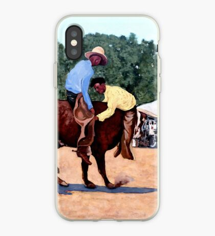 Cowboy Conundrum iPhone Case