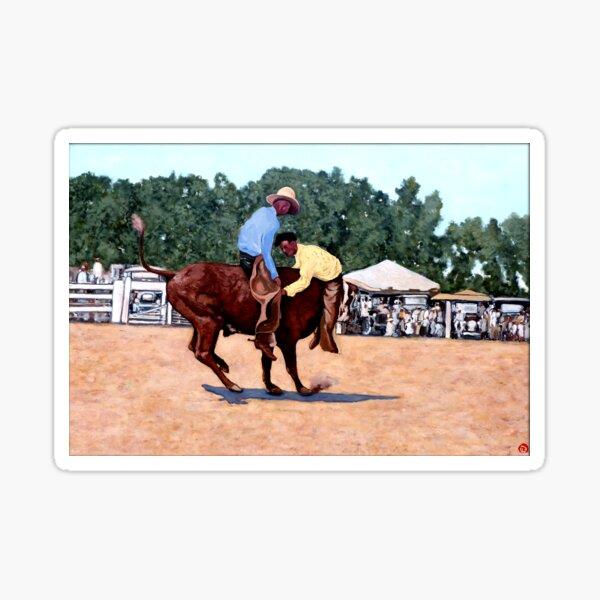 Cowboy Conundrum Sticker