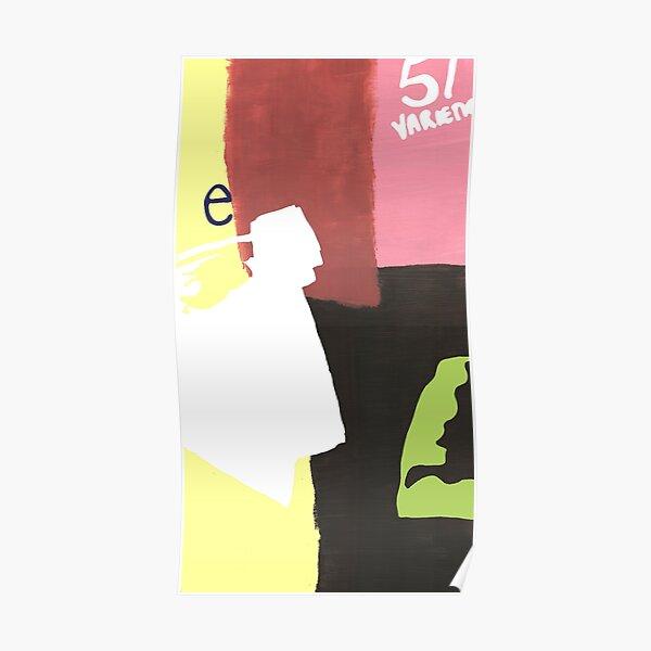 'e' Poster