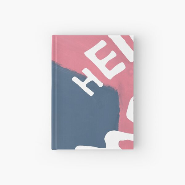 Jumble of Letters Hardcover Journal