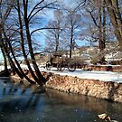 Pipe Spring Winter Scene by Susan Russell