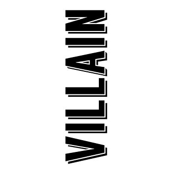 Villain  by snitts