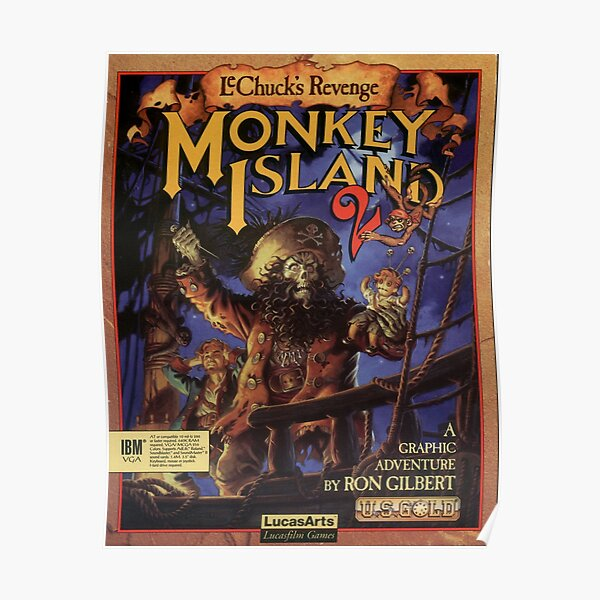 Monkey Island 2 Póster