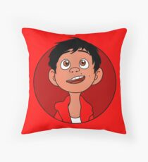 Miguel From Coco Throw Pillow
