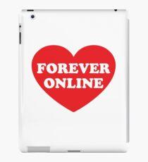 Forever Online Heart iPad Case/Skin