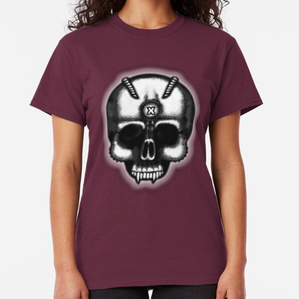 Errorface Skull Classic T-Shirt