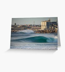 Grinding Plant Greeting Card