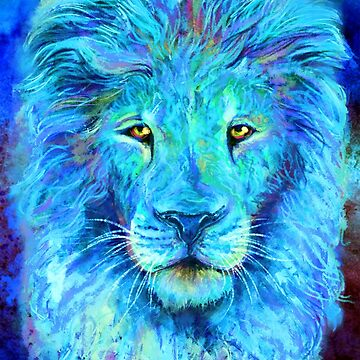 Dreamy Lion -full- by carissalapreal