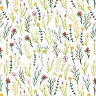 Fun Floral Pattern by Emily Ryan