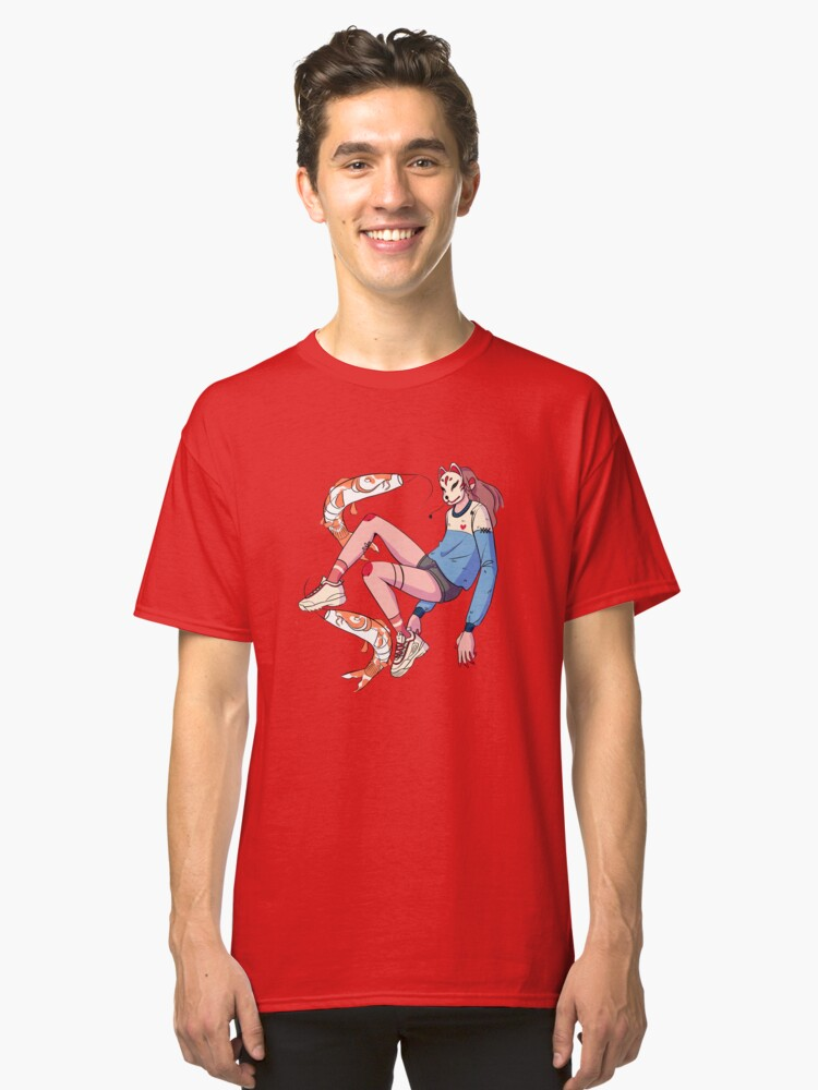 Cool Sneakers and Koi Fishes  Classic T-Shirt Front